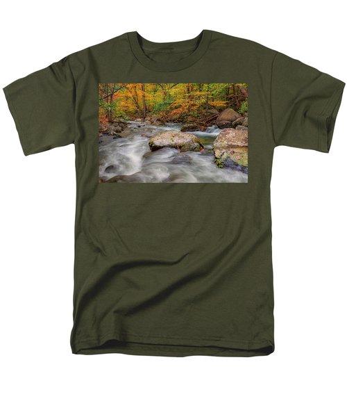 Tye River Men's T-Shirt  (Regular Fit) by David Cote