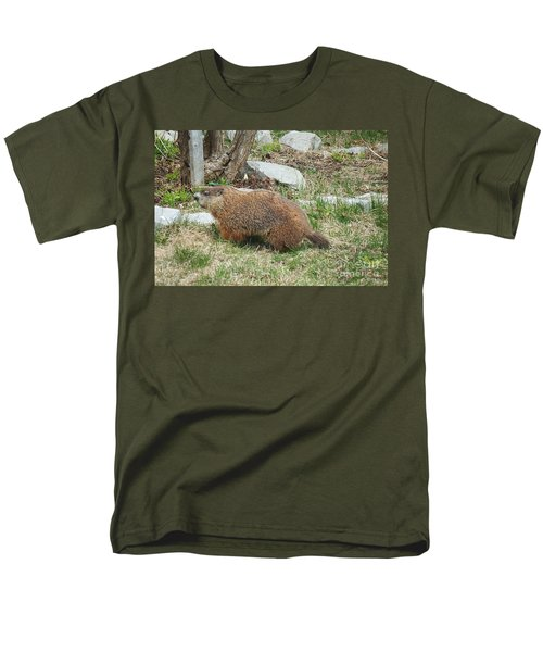 Visitor  Men's T-Shirt  (Regular Fit) by Vicky Tarcau