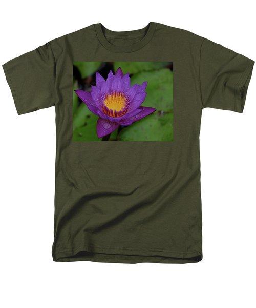 Water Lily Men's T-Shirt  (Regular Fit) by Ronda Ryan