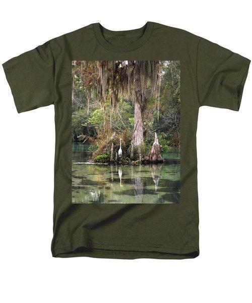 Weeki Wachee River Men's T-Shirt  (Regular Fit) by Steven Sparks