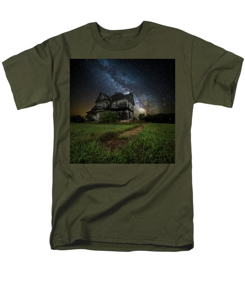 Men's T-Shirt  (Regular Fit) featuring the photograph What Once Was by Aaron J Groen