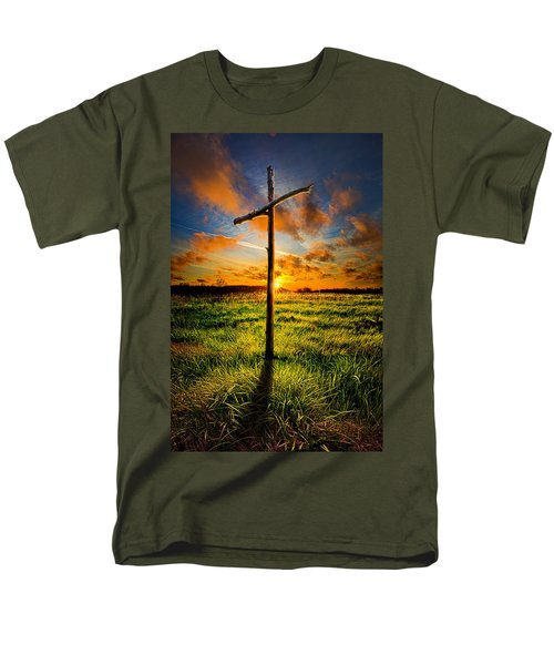 What Will Be Will Be Men's T-Shirt  (Regular Fit) by Phil Koch