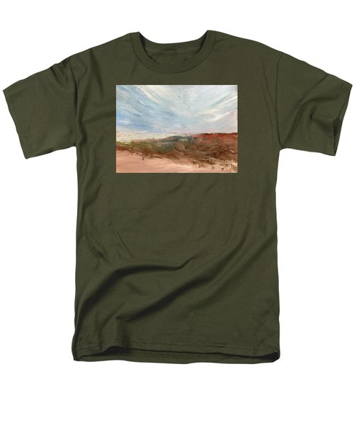 Men's T-Shirt  (Regular Fit) featuring the painting Witness by Trilby Cole