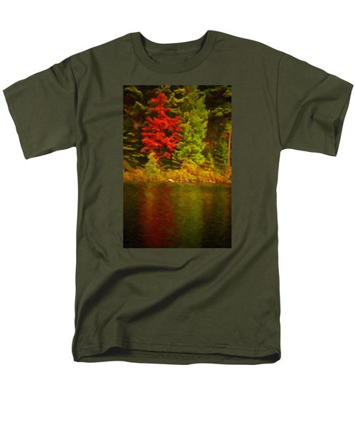 Fall Reflections Men's T-Shirt  (Regular Fit) by Andre Faubert