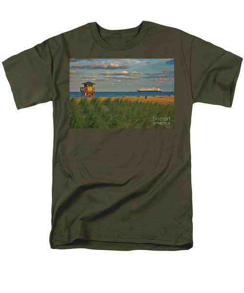 Men's T-Shirt  (Regular Fit) featuring the photograph 13- Cruising In Paradise by Joseph Keane
