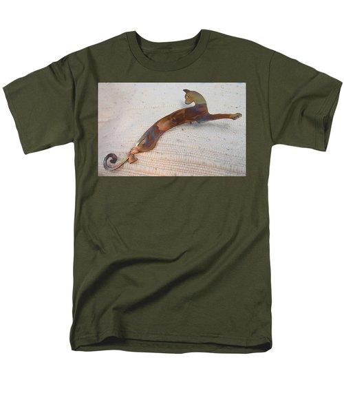 1375 Stealth Cat Men's T-Shirt  (Regular Fit) by Dianne Brooks