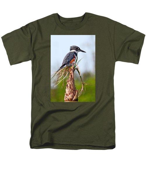 Belted Kingfisher Men's T-Shirt  (Regular Fit)