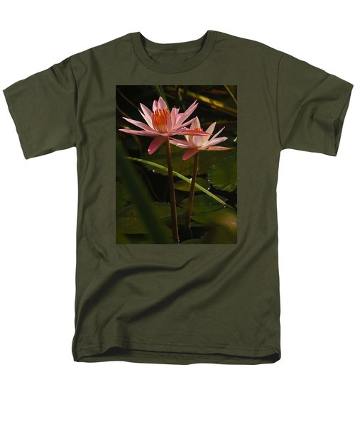 Water Lilly Men's T-Shirt  (Regular Fit) by Ronald Olivier