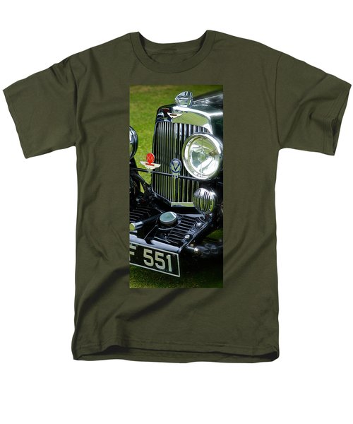1930s Aston Martin Front Grille Detail Men's T-Shirt  (Regular Fit) by John Colley