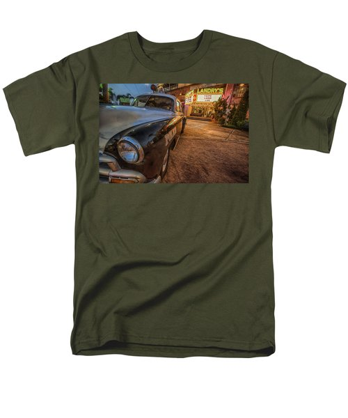 1952 Chevy  Men's T-Shirt  (Regular Fit) by Kathy Adams Clark