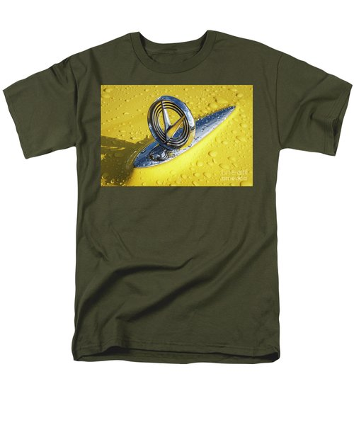 Men's T-Shirt  (Regular Fit) featuring the photograph 1955 Buick Hood Ornament by Dennis Hedberg