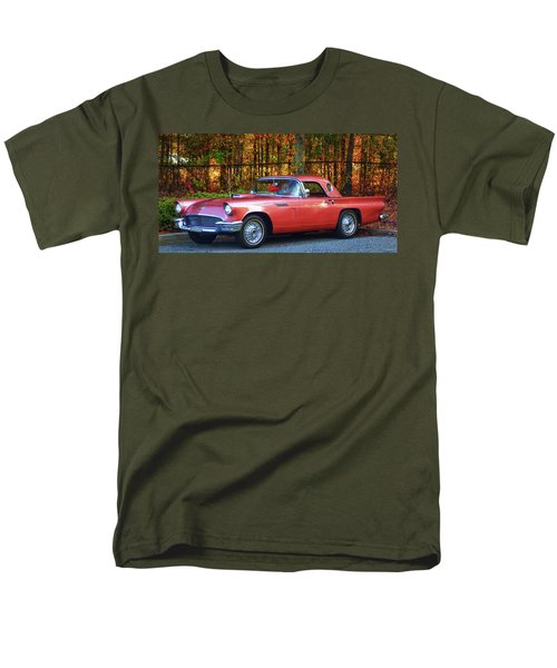 1957 Thunderbird  003 Men's T-Shirt  (Regular Fit) by George Bostian