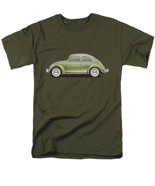 1957 Volkswagen Deluxe Sedan - Diamond Green Men's T-Shirt  (Regular Fit)