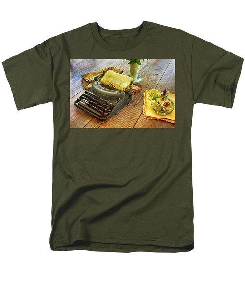 An Author's Tools Men's T-Shirt  (Regular Fit) by Lynn Palmer