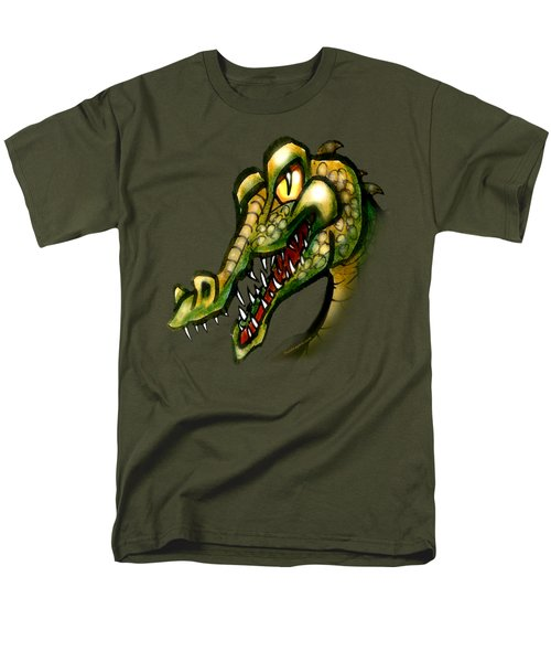 Crocodile Men's T-Shirt  (Regular Fit) by Kevin Middleton