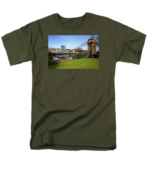 Men's T-Shirt  (Regular Fit) featuring the photograph Glasgow by Jeremy Lavender Photography
