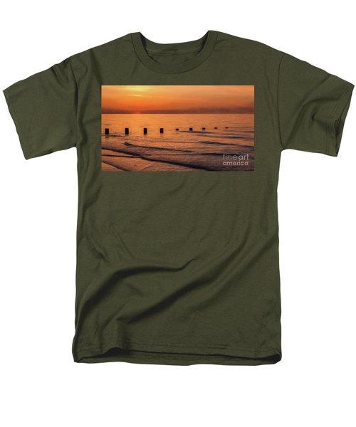 Men's T-Shirt  (Regular Fit) featuring the photograph Golden Sunset by Adrian Evans