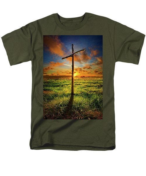 Men's T-Shirt  (Regular Fit) featuring the photograph Good Friday by Phil Koch