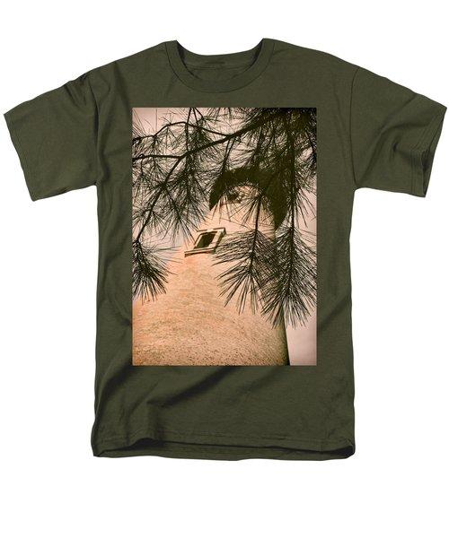 Island Lighthouse Men's T-Shirt  (Regular Fit) by JAMART Photography