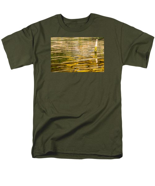 Lake Reflection Men's T-Shirt  (Regular Fit) by Odon Czintos