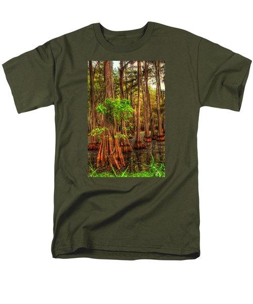 Louisiana Bayou Men's T-Shirt  (Regular Fit) by Ester  Rogers
