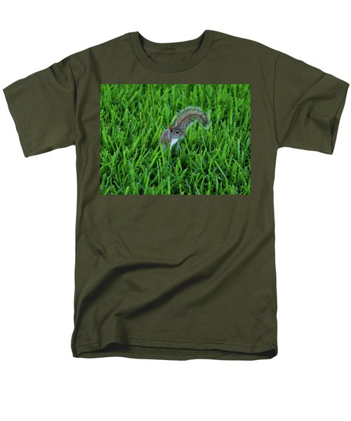 Men's T-Shirt  (Regular Fit) featuring the photograph 2- Squirrel by Joseph Keane