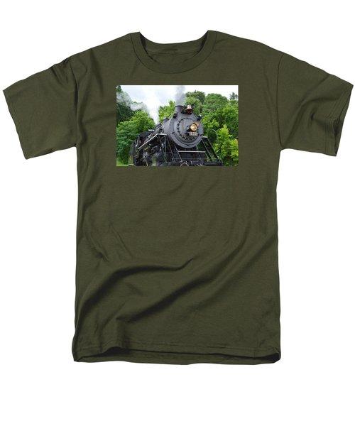 Steam Engline Number 630 Men's T-Shirt  (Regular Fit) by Linda Geiger