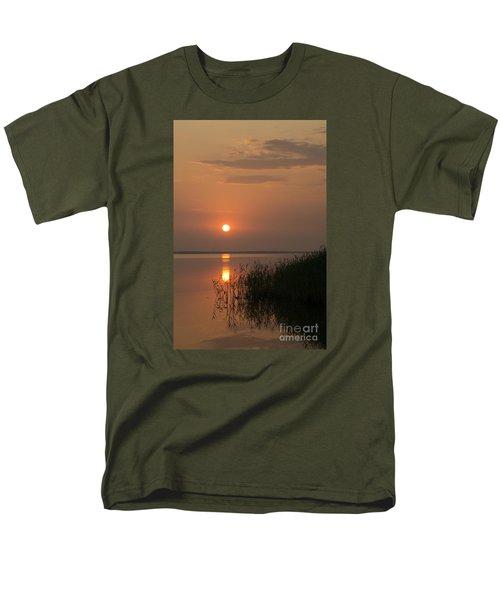 Men's T-Shirt  (Regular Fit) featuring the photograph Sunset  by Inge Riis McDonald