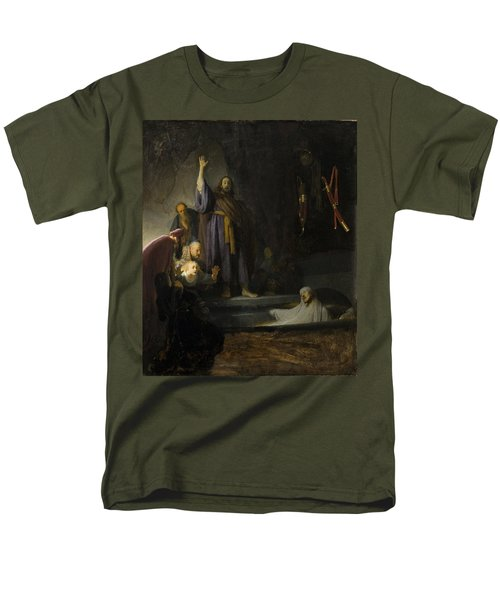 Men's T-Shirt  (Regular Fit) featuring the painting The Raising Of Lazarus by Rembrandt