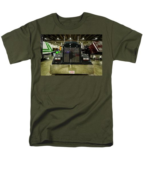 Men's T-Shirt  (Regular Fit) featuring the photograph 2000 Kenworth W900 by Randy Scherkenbach