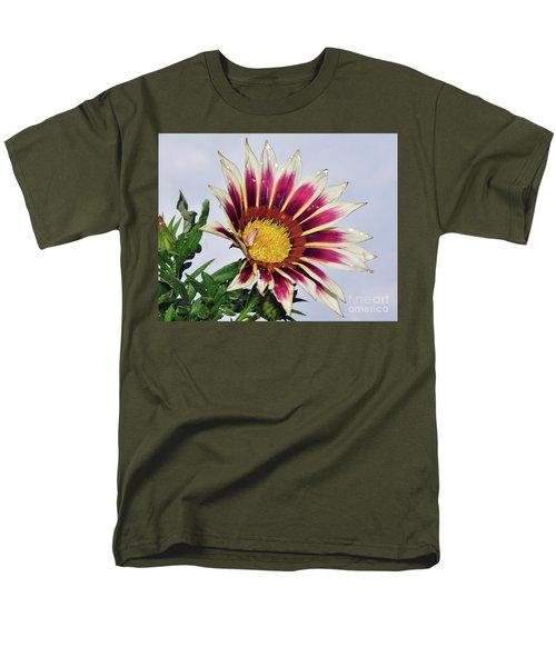 Men's T-Shirt  (Regular Fit) featuring the photograph Nice Gazania by Elvira Ladocki
