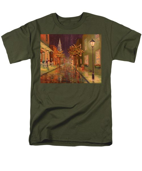 24 Hour Delivery Men's T-Shirt  (Regular Fit) by Dorothy Allston Rogers