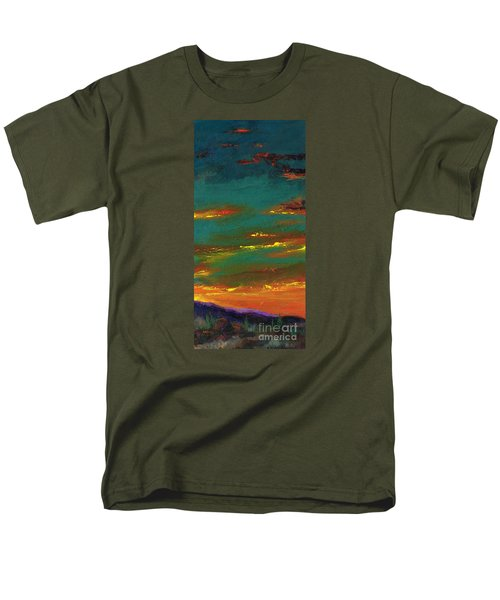 2nd In A Triptych Men's T-Shirt  (Regular Fit) by Frances Marino