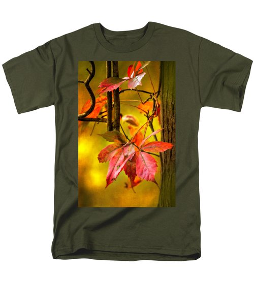 Men's T-Shirt  (Regular Fit) featuring the photograph Fall Colors by Eduard Moldoveanu