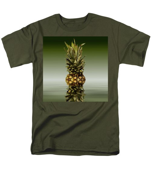 Men's T-Shirt  (Regular Fit) featuring the photograph Fresh Ripe Pineapple Fruits by David French