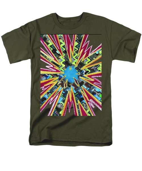 Goodluck Star Sparkles  Men's T-Shirt  (Regular Fit) by Navin Joshi