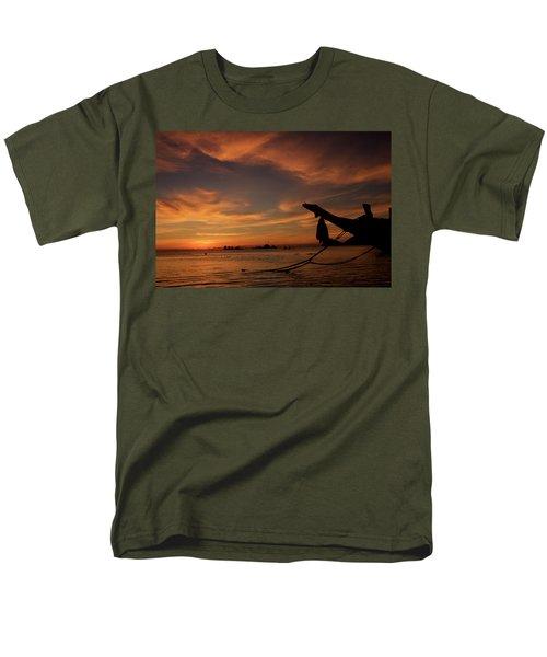 Koh Tao Island In Thailand Men's T-Shirt  (Regular Fit) by Tamara Sushko