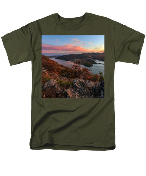 Men's T-Shirt  (Regular Fit) featuring the photograph The View  by Anthony Fields