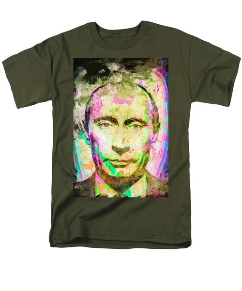 Vladimir Putin Men's T-Shirt  (Regular Fit) by Svelby Art