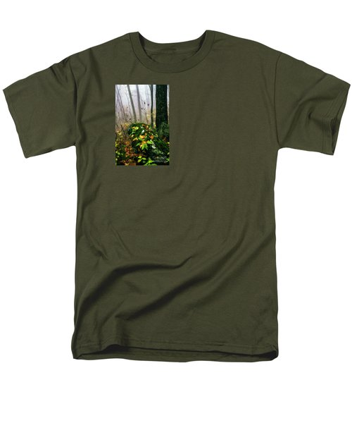 Autumn Monongahela National Forest Men's T-Shirt  (Regular Fit) by Thomas R Fletcher