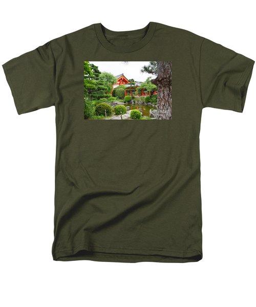 33 Sanjusangendo 1 Men's T-Shirt  (Regular Fit) by Eva Kaufman