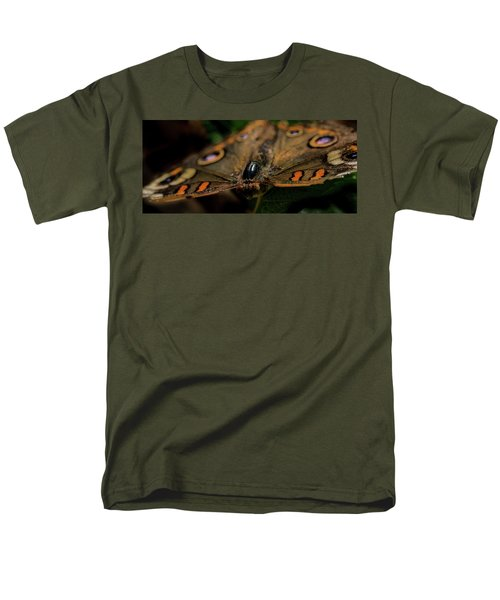 Men's T-Shirt  (Regular Fit) featuring the photograph Butterfly by Jay Stockhaus