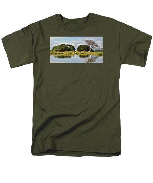 Men's T-Shirt  (Regular Fit) featuring the photograph dead Tree by Werner Lehmann