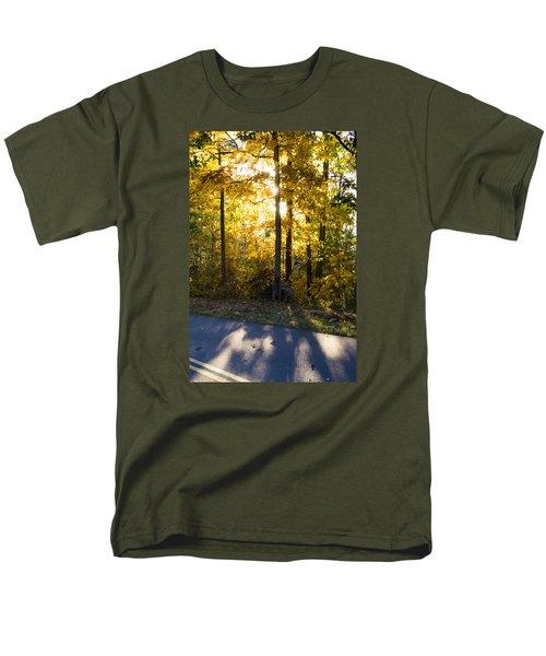 Fall Color Virginia West Virginia Men's T-Shirt  (Regular Fit) by Kevin Blackburn