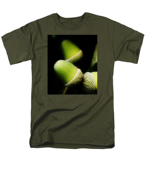 Foliage And Acorns Men's T-Shirt  (Regular Fit) by Werner Lehmann