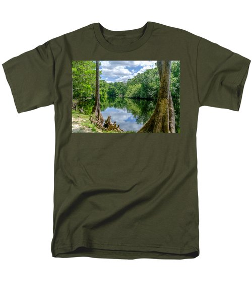 Men's T-Shirt  (Regular Fit) featuring the photograph Reflections by Louis Ferreira