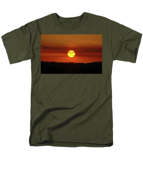 Men's T-Shirt  (Regular Fit) featuring the photograph 4- Sunset by Joseph Keane