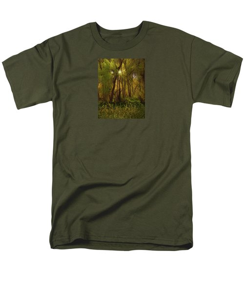 Men's T-Shirt  (Regular Fit) featuring the photograph 4368 by Peter Holme III