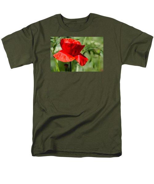 Poppy Men's T-Shirt  (Regular Fit) by Martina Fagan