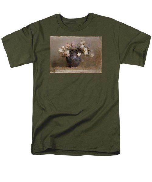 Roses Men's T-Shirt  (Regular Fit) by Abbott Handerson Thayer